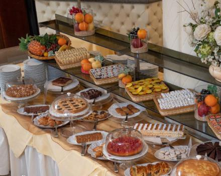 Enjoy the rich buffet breakfast of 4-star BW Air Hotel Linate! And if you are leaving early, for you there is the Early Morning Buffet starting at 3.00!