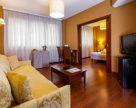 Space and comfort in the Family Rooms of the BW Air Hotel Linate, 4 stars near Milan Airport!