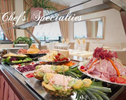 Enjoy the Buffet of BW Air Hotel Linate