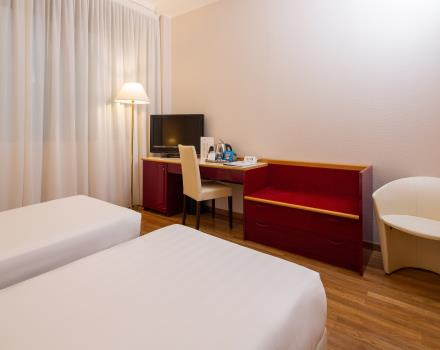 Discover the comfort of the Superior Rooms of the BW Air Hotel Linate Milano, 4 stars near Linate Airport!