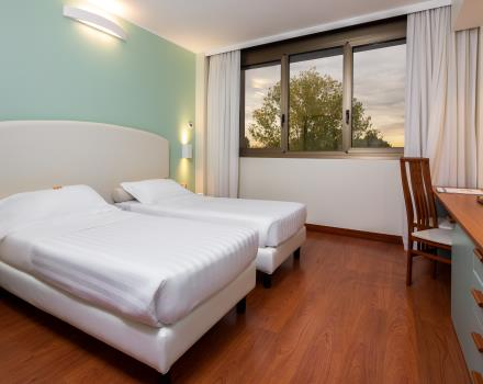 Enjoy the comfort of the rooms at BW Air Hotel Linate, our 4-star hotel very close to the airport!